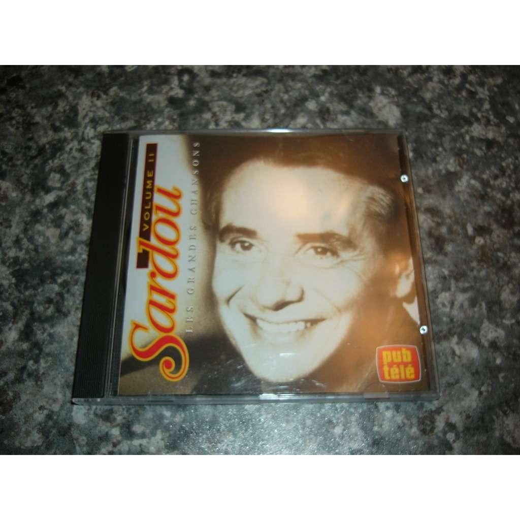michel sardou les grandes chansons de Michel sardou volume 2 pressage canadien