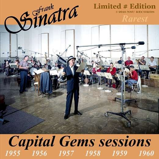 frank sinatra RAREST CAPITAL GEMS SESSIONS LIMITED 2CD