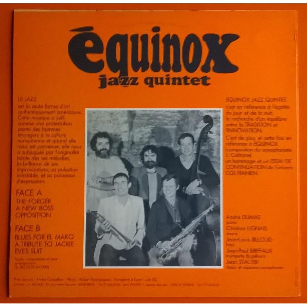equinox jazz quintet the forger