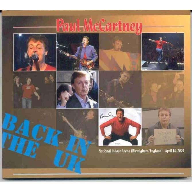 Beatles / Paul McCartney Back in The UK (Birmingham National Indoor Arena 14 April 2003)