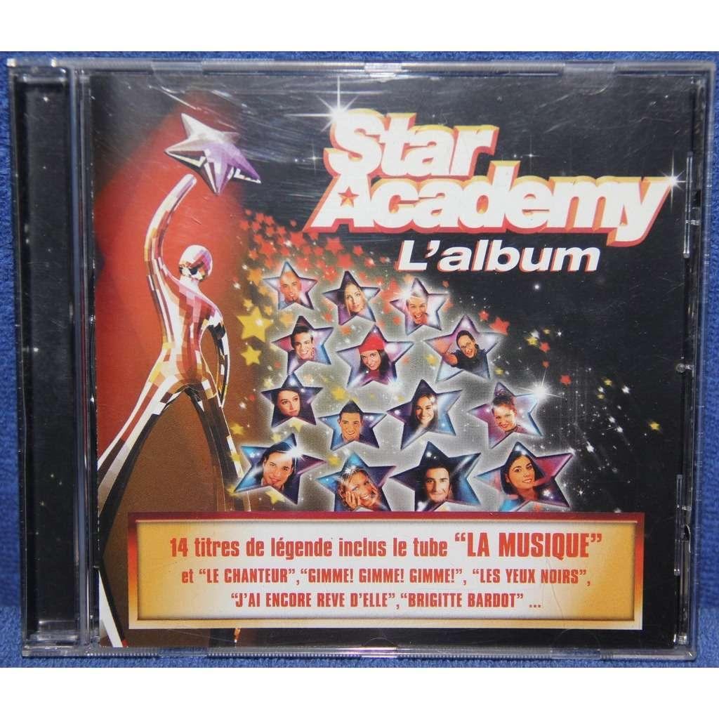 star academy 14titres de légende inclus  La Musique
