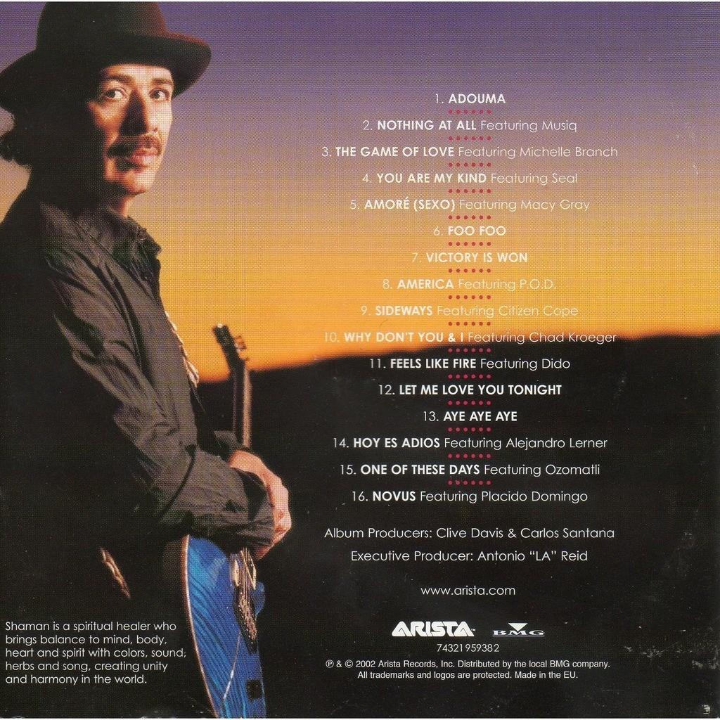 Shaman Santana: Shaman By Carlos Santana, CD With Didierf
