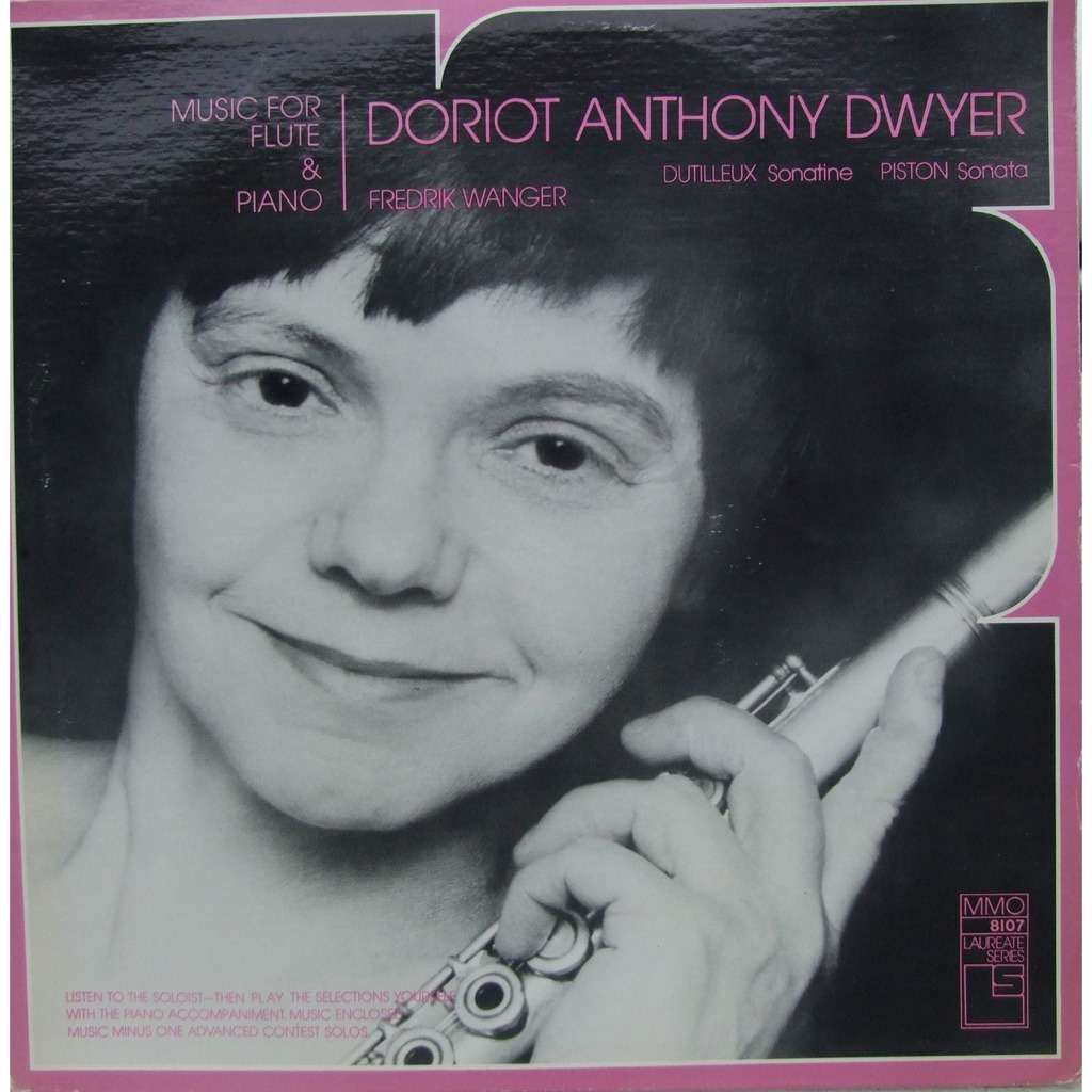 Doriot Anthony Dwyer Musique for flute piano by Doriot Anthony Dwyer LP with mabuse