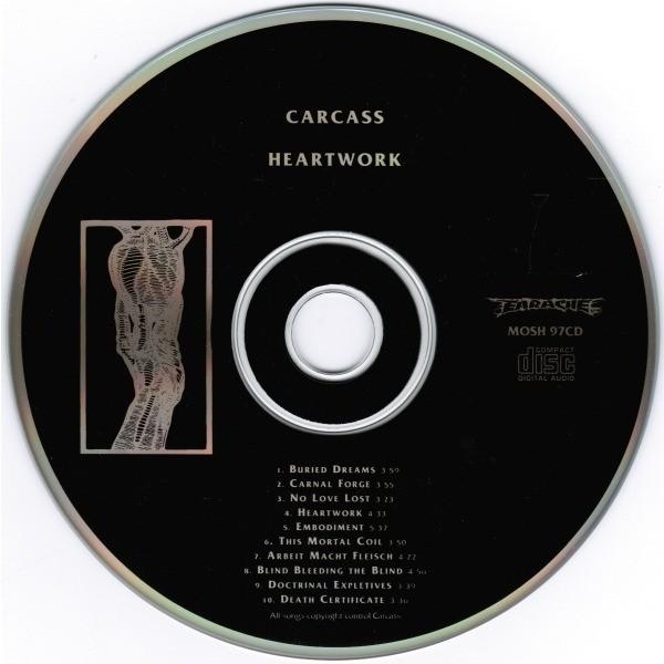 cd carcass heartwork