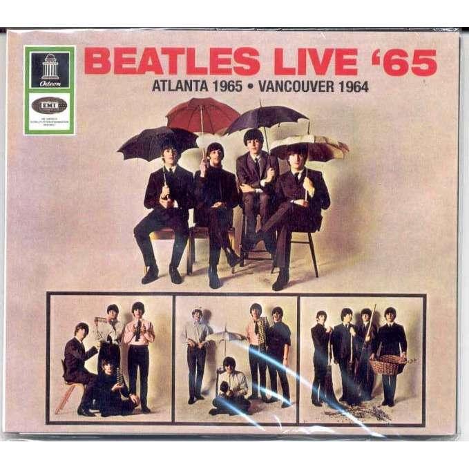 Beatles Live 65 Atlanta Stadium Usa 18 Aug 1965 And