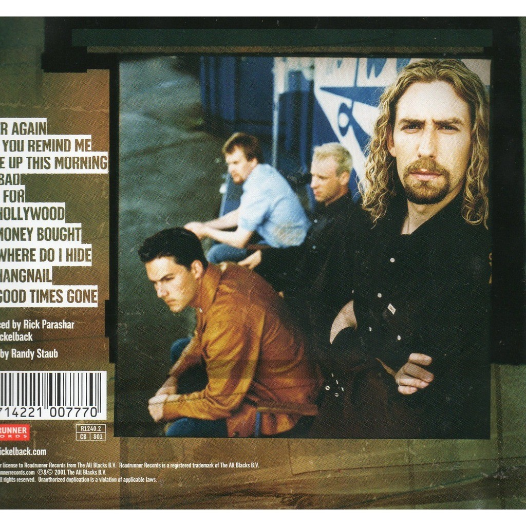 Silver Side Up By Nickelback Cd With Didierf Ref117999537