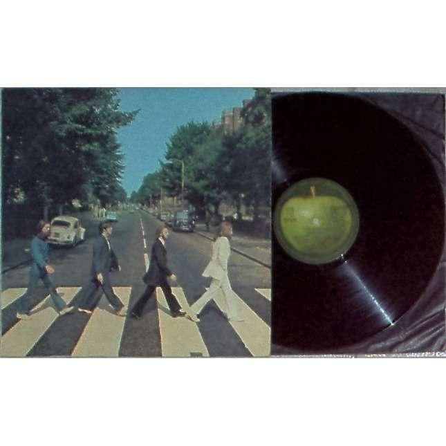 Beatles Abbey Road (Italian 1969 original LP strong laminated ps)