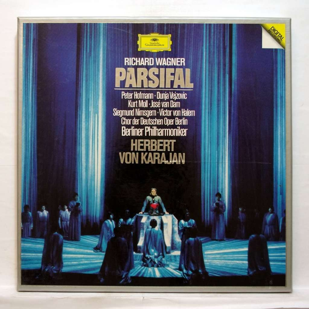 Wagner Parsifal By Herbert Von Karajan Lp Box Set With
