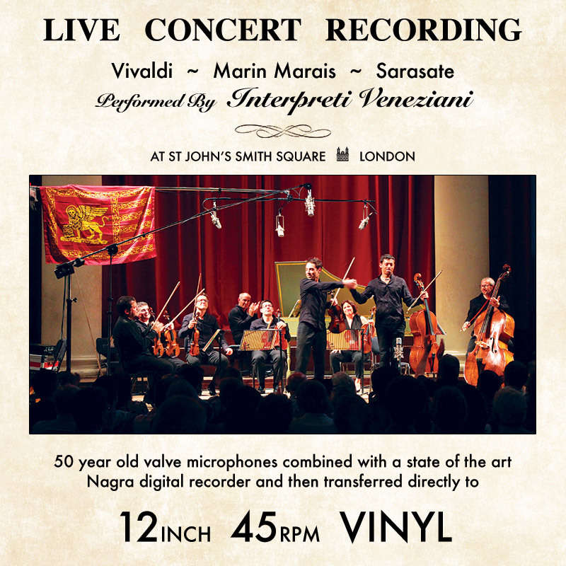 Direct to disc 45rpm 180g by Vivaldi - Marin Marais - Sarasate ...