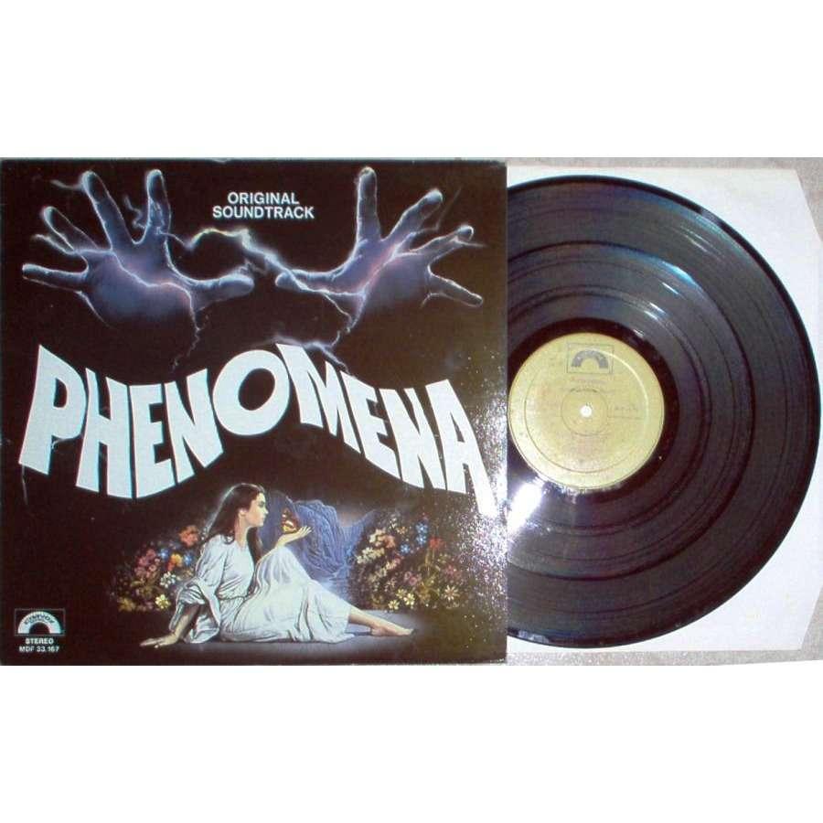 iron maiden Phenomena (Italian 1985 original 13-trk V/A OST LP full ps)