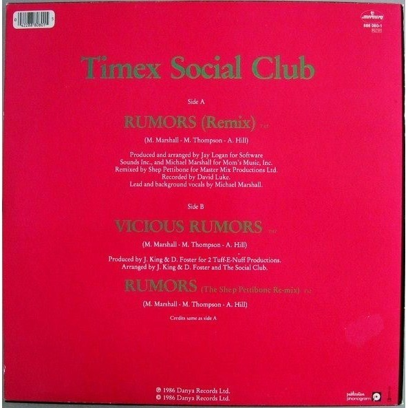 Timex Social Club Rumors Original Version