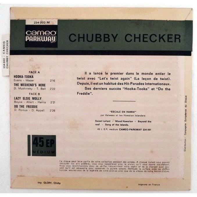 CHUBBY CHECKER HOOKA-TOOKA