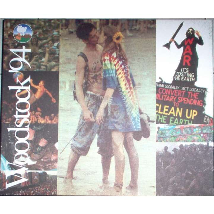 Woodstock 94 Baby Capone Lbl 1994 Ltd Live 10cds Box Set