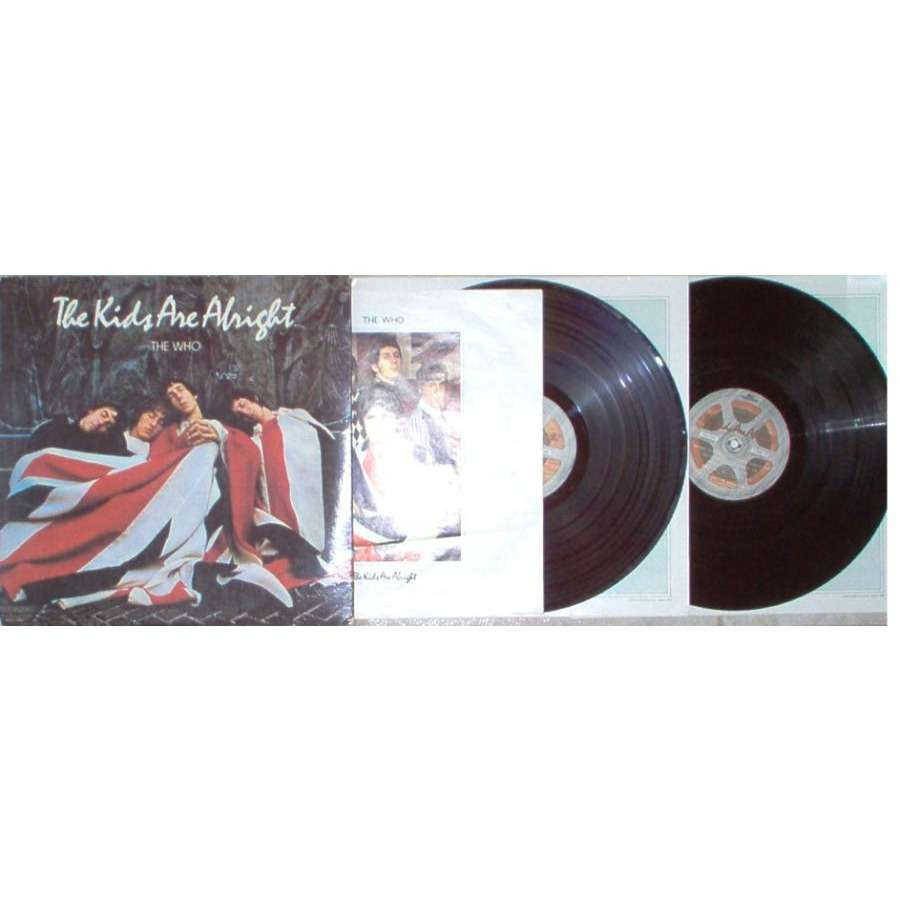 the who The Kids Are Alright (Canada 1979 19-trk 2LP set ps & inner slvs & booklet)