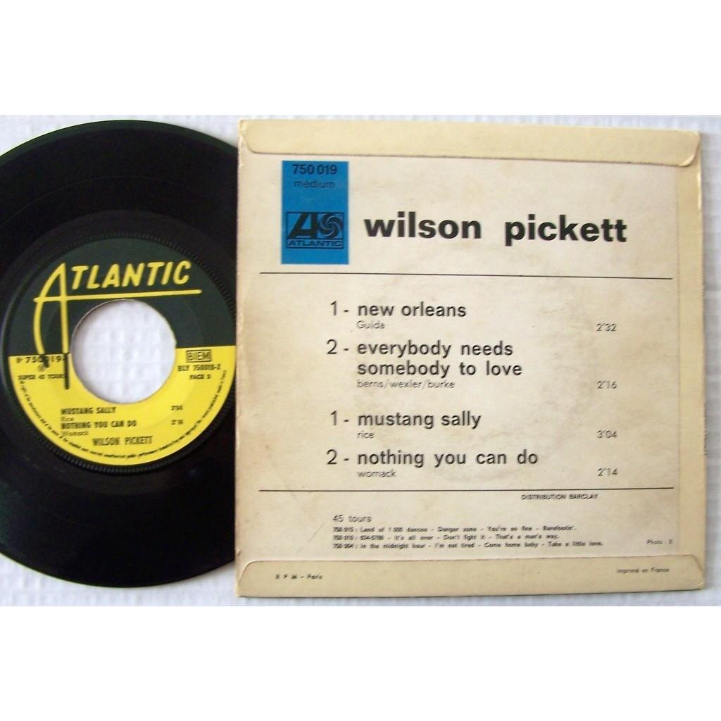 wilson pickett EP new orléans