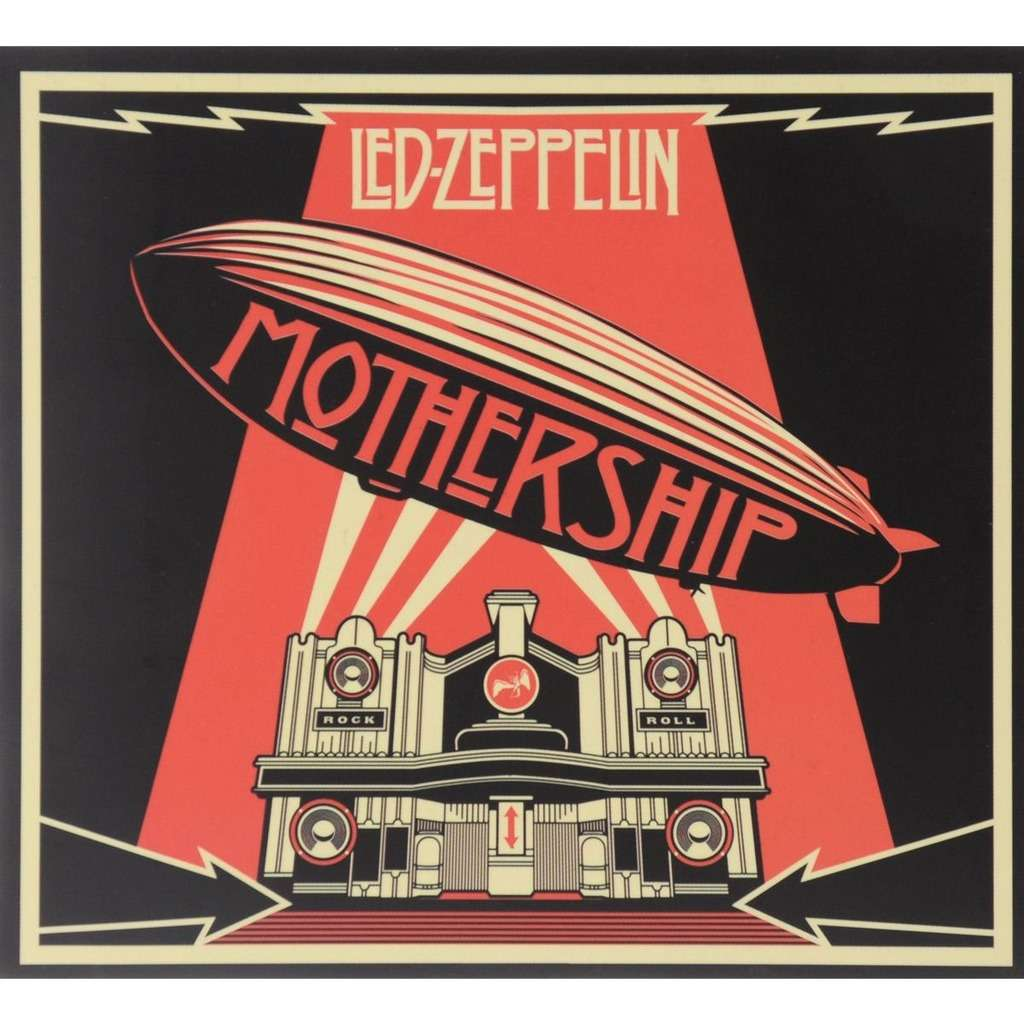 Mothership By Led Zeppelin Cd X 2 With Techtone11 Ref