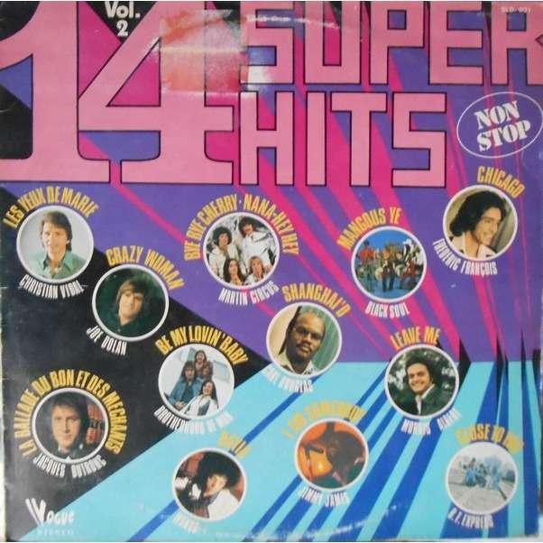 divers artistes - various artist 14 super hits Vol.2