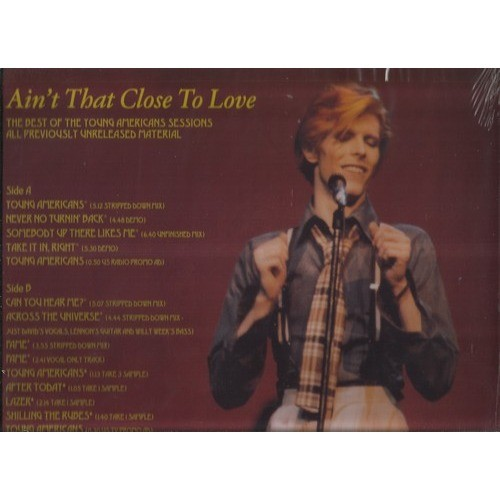 david bowie ain't that close to love