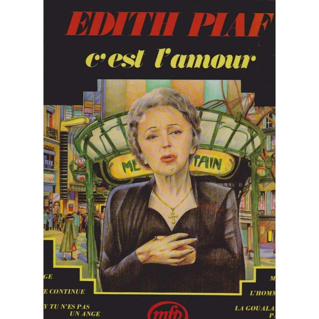 edith piaf C'est l'amour
