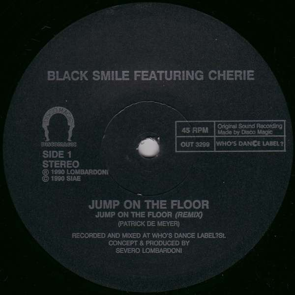 Jump On The Floor By Black Smile Featuring Cherie Sp With Daver