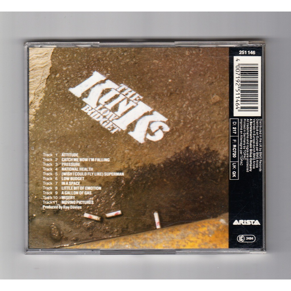 low budget the kinks cd 売り手 ouioui14 id 118018057
