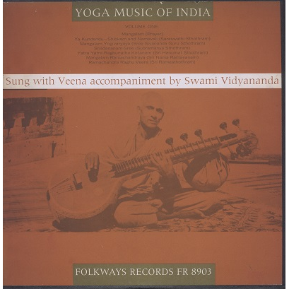 Swami vidyananda yoga music of india vol.1