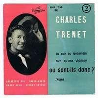 TRENET CHARLES DU SOIR AU LENDEMAIN + 3 ( 3eme EP )
