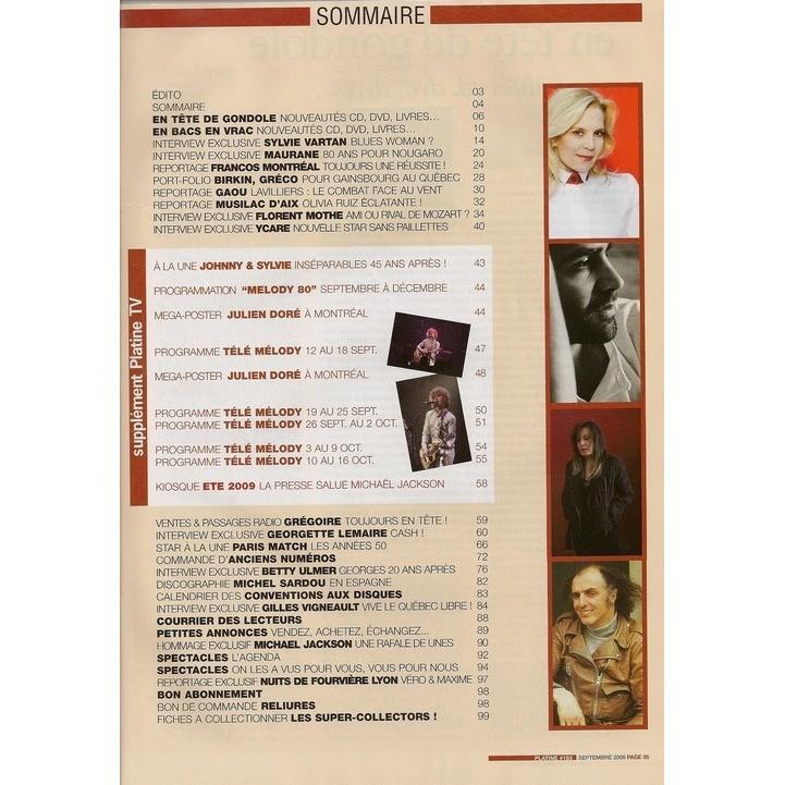 Sylvie Vartan Platine n° 163