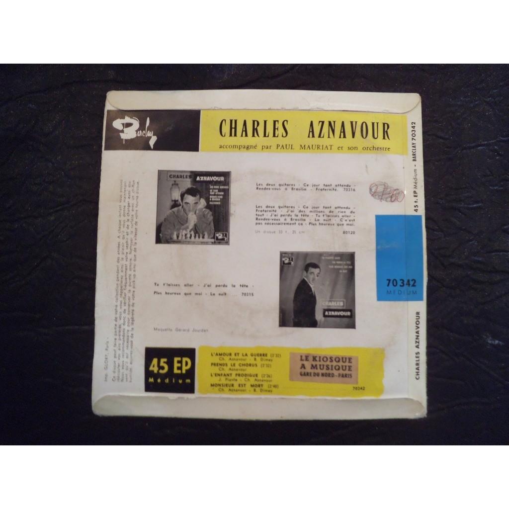 charles Aznavour l'amour et la guerre