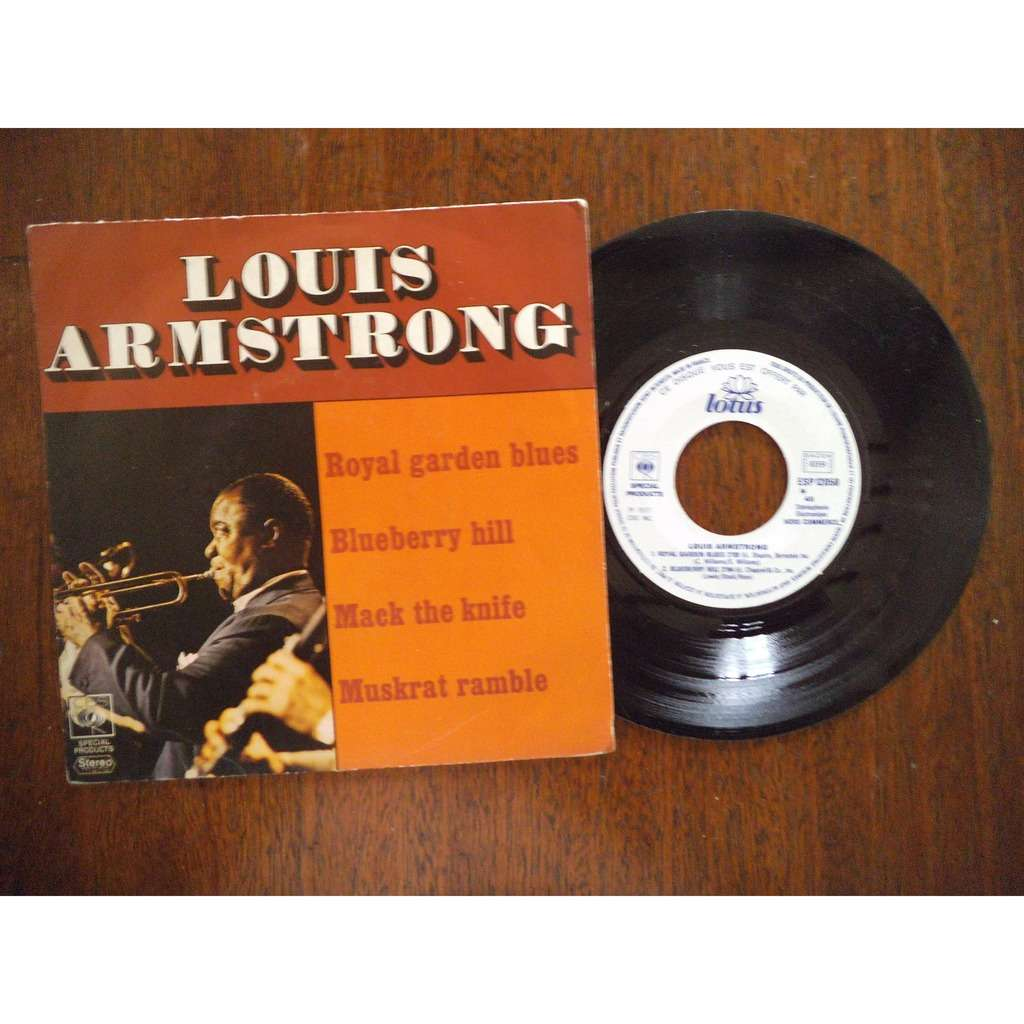 Louis Armstrong Royal garden blues / blueberry hill / mack the knife / muskrat ramble