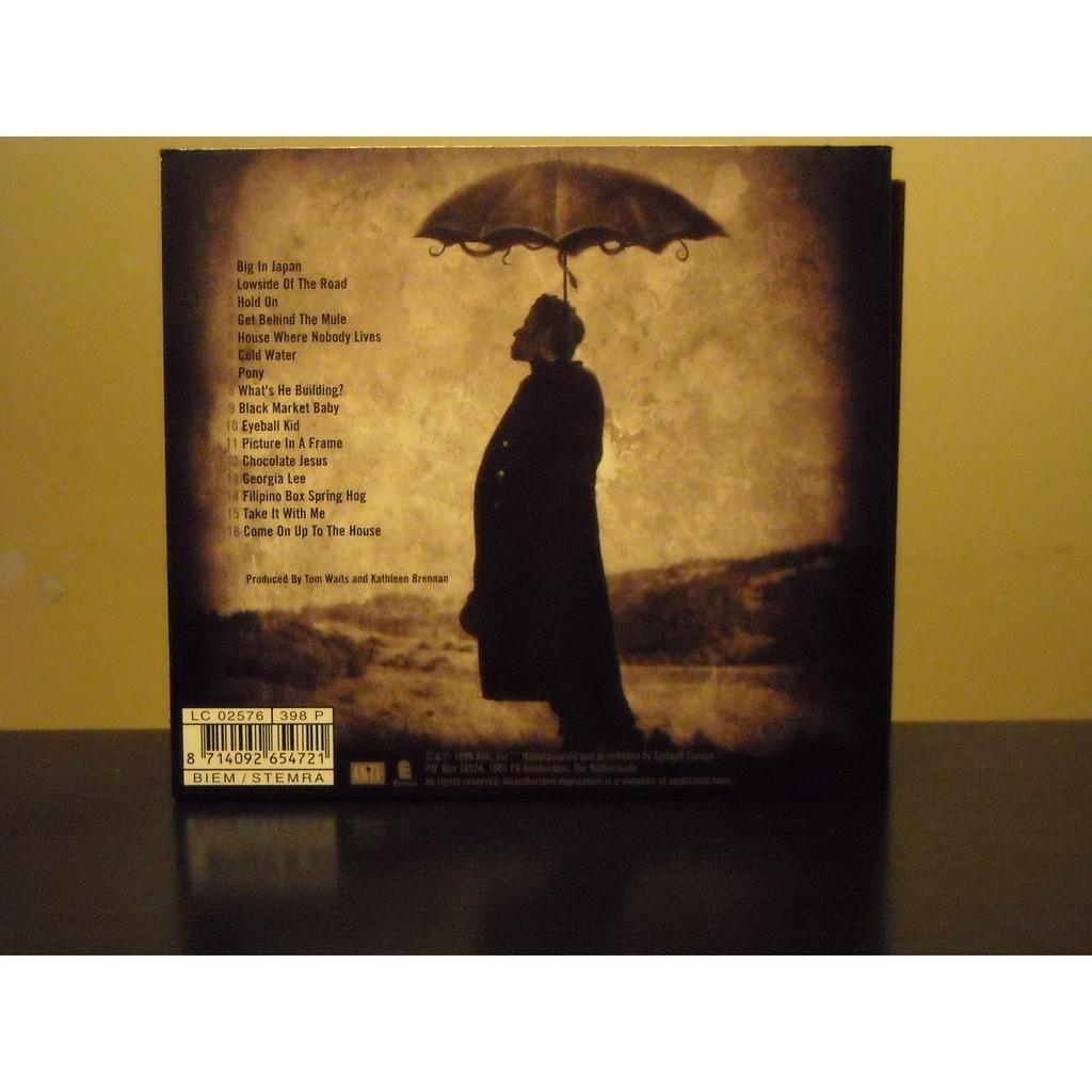 Mule variations (digipak edition) by Tom Waits, CD with aizenmyo ...