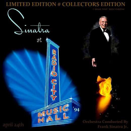 frank sinatra LIVE RADIO CITY MUSIC HALL 1994 LTD CD