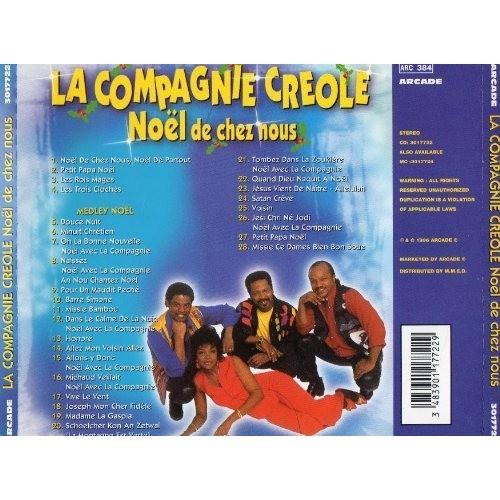 noel compagnie créole Noël de chez nous de La Compagnie Créole, CD chez minkocitron  noel compagnie créole