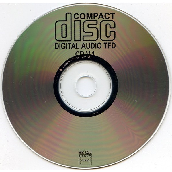 TOTAL FUCKING DESTRUCTION Compact Disc Version I
