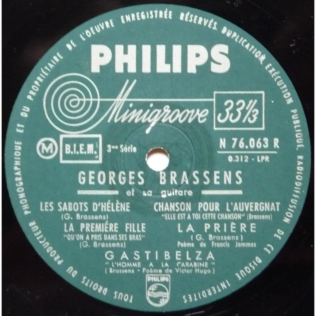 Georges Brassens N3 Avec Des Poèmes De Francis Jammes Et Victor Hugo By Georges Brassens 10inch With Yajm22