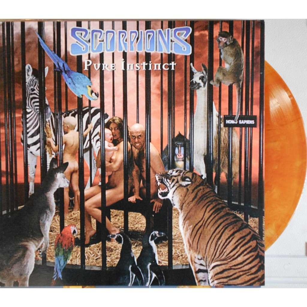 pure instinct vinyl couleur by scorpions lp with ald93