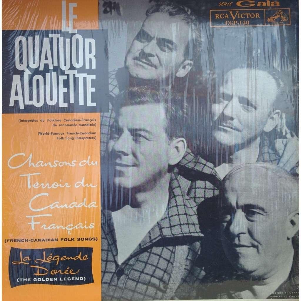 le quatuor alouette chansons du terroir du canada francais