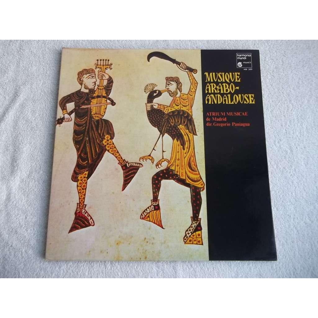 gregorio paniagua Musique Arabo-Andalouse