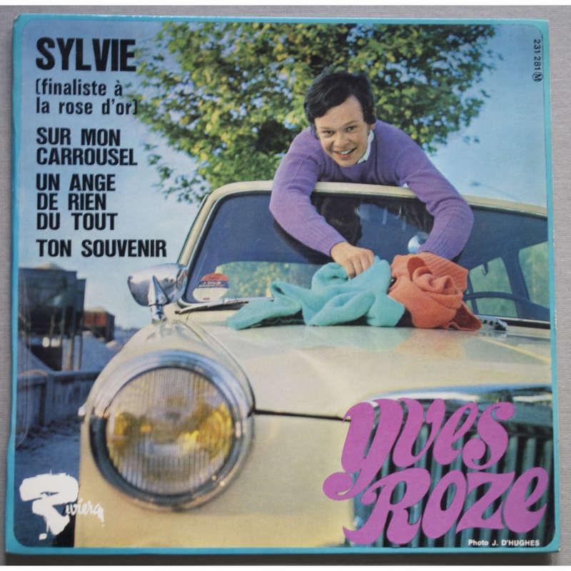 YVES ROZE sylvie - un ange de rien du tout - sur mon carrousel - ton souvenir
