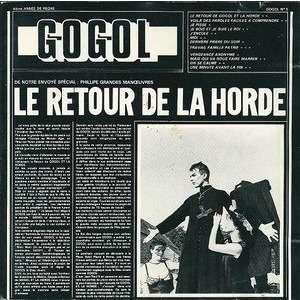 Le Retour De La Horde Gogol 1er