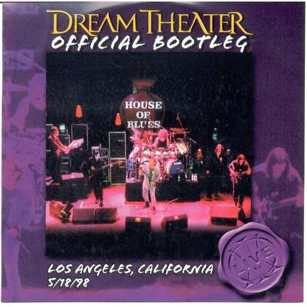 Dream Theater Official Bootleg (Los Angeles California 5/18/98)