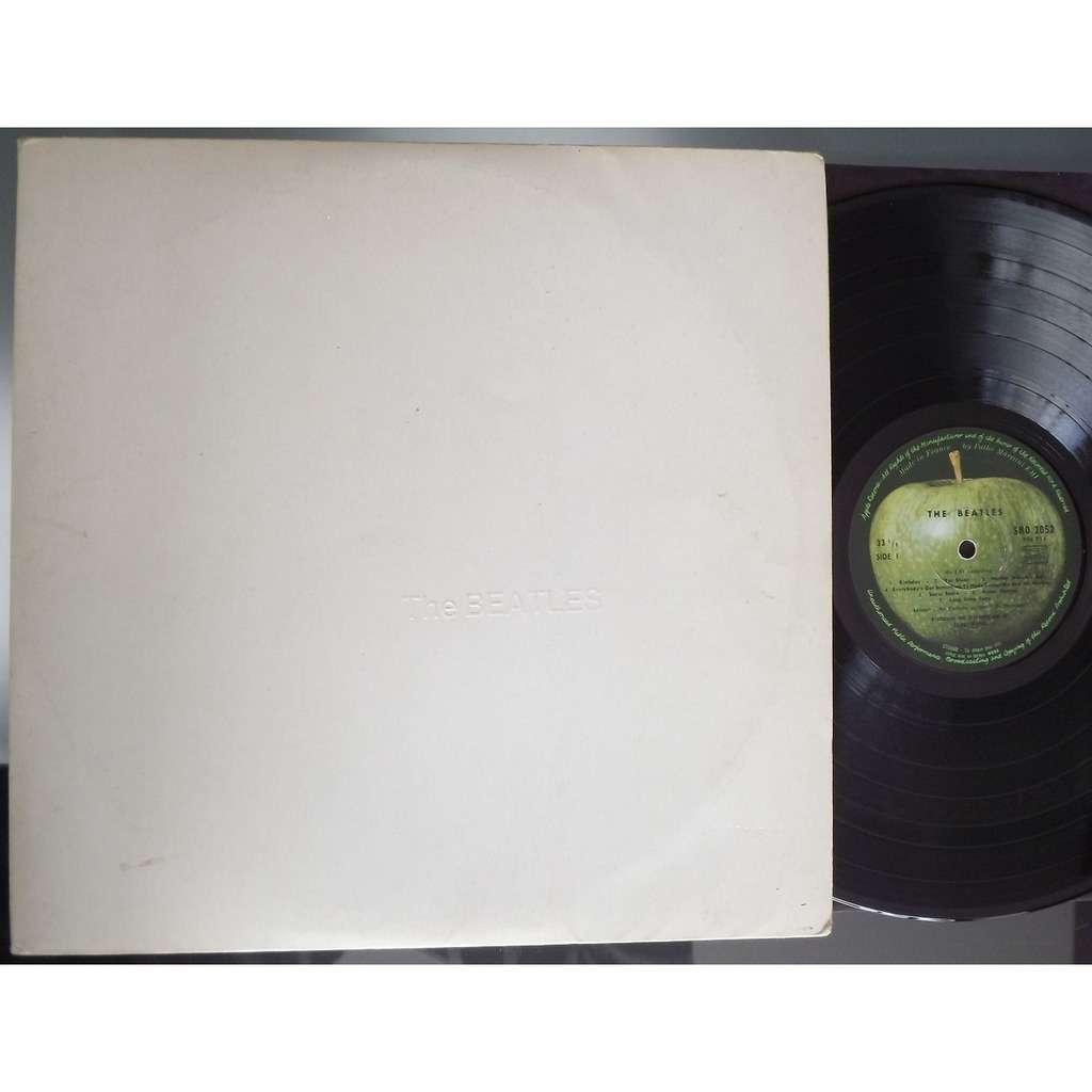 the beatles back in the urss album blanc numerot 0207414