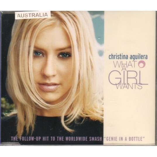 christina aguilera WHAT A GIRL WANTS