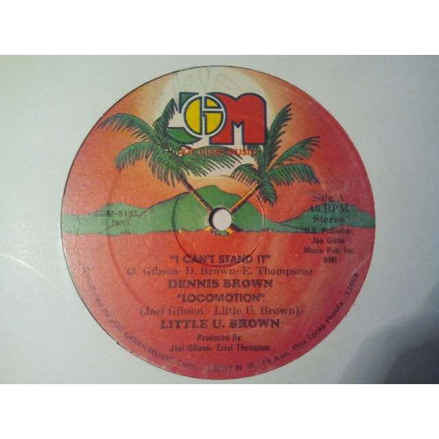 DENNIS BROWN/ LITTLE U. BROWN / THE PROFESSIONALS I CAN'T STAND IT / LOCOMOTION / TOO HOT ORIG.