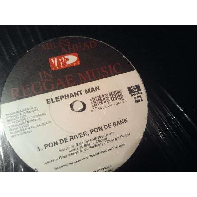 ELEPHANT MAN PON DE RIVER, PON DE BANK / ALL OUT ORIG.