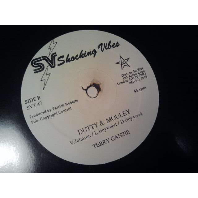 TERRY GANZIE / BEENIE MAN DUTTY & MOULEY / MODELLING ORIG.