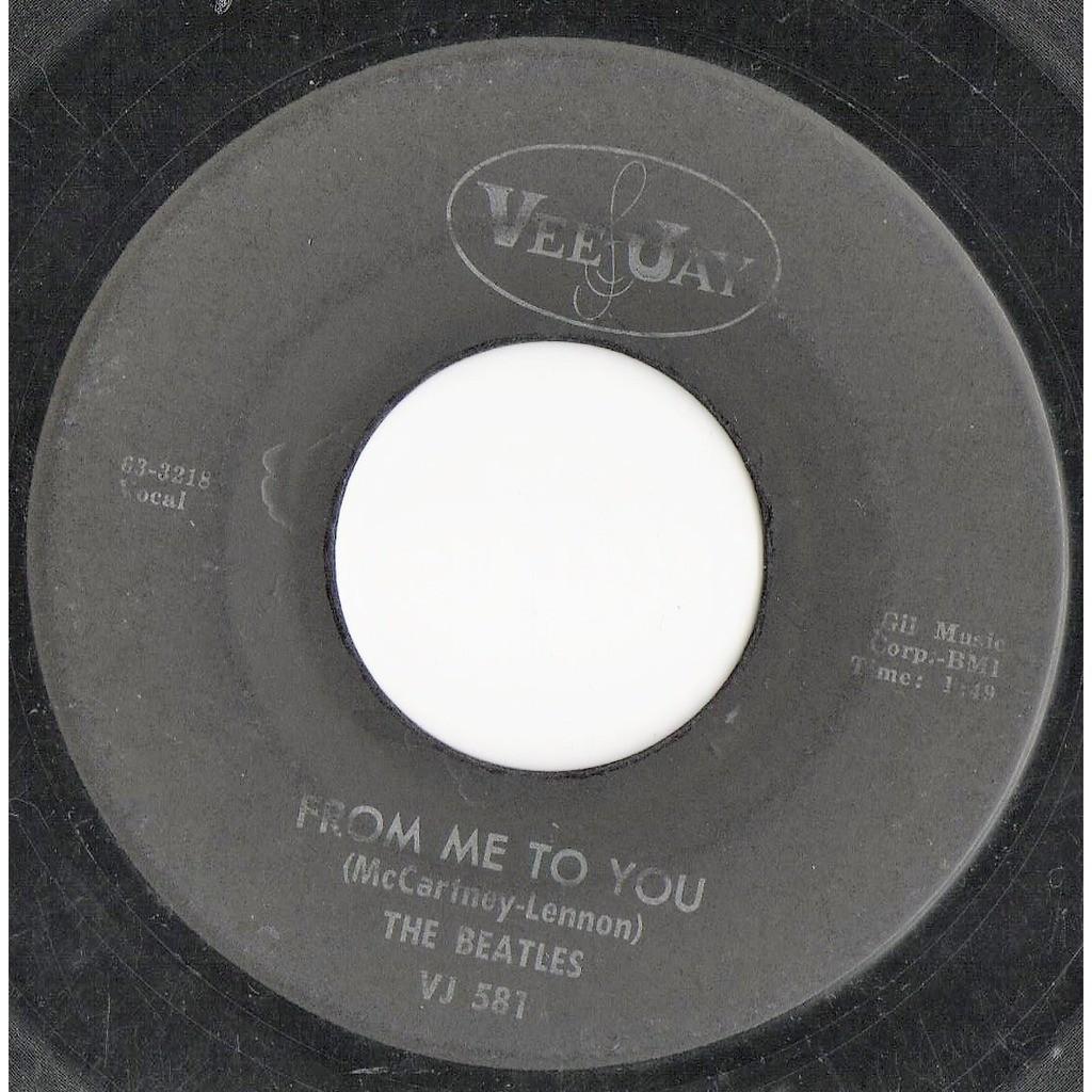Beatles Please Please Me (USA 60s original 2-trk 7single on Vee Jay lbl)