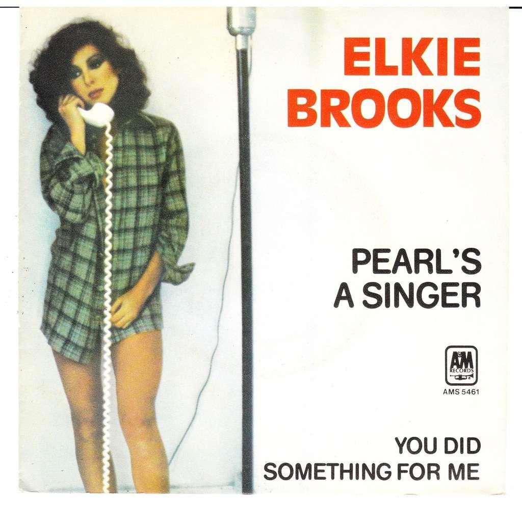 Pearl S A Singer By Elkie Brooks Sp With Lejaguar Ref
