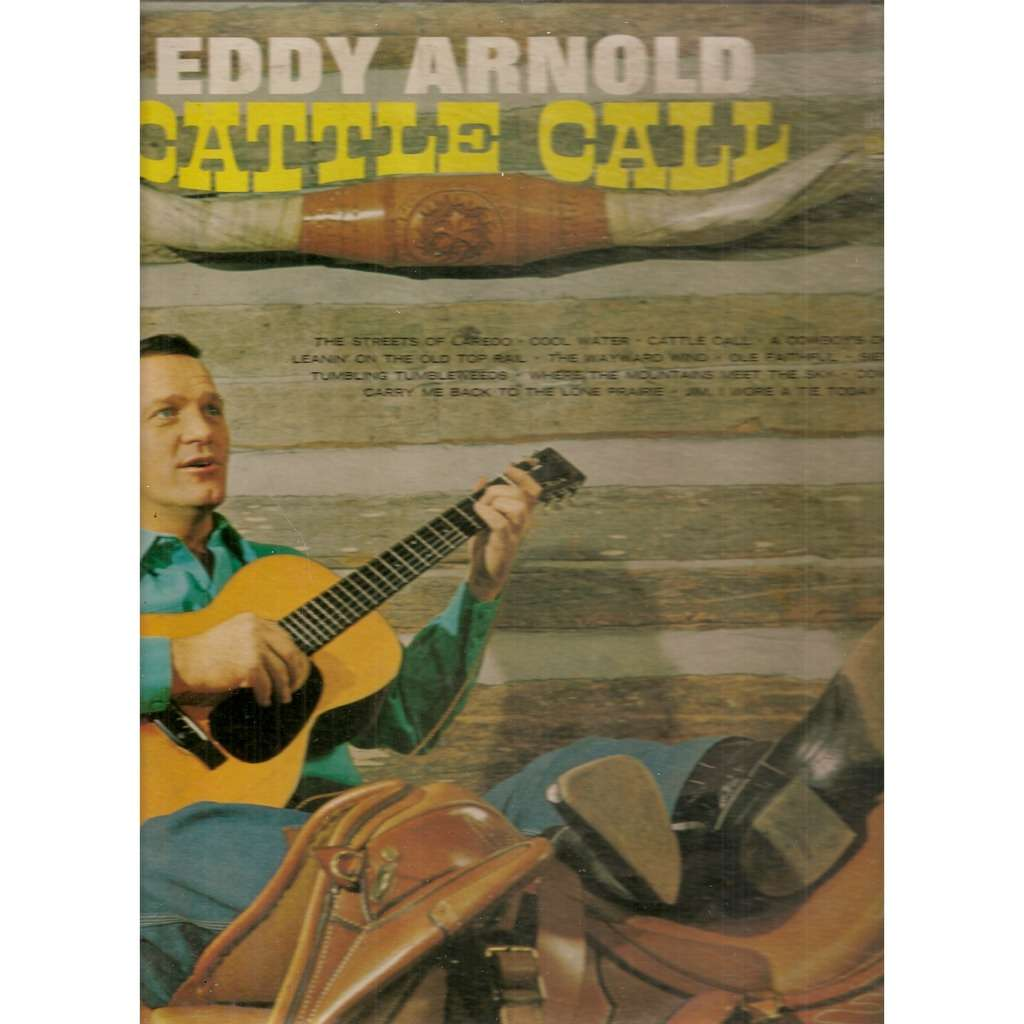 Cattle Call By Eddy Arnold Lp With Galgano Ref118039619