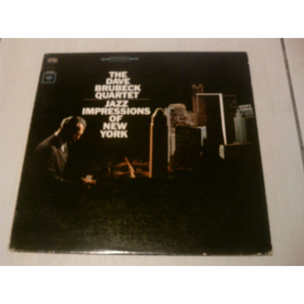 Dave Brubeck Quartet, The  Jazz Impressions Of New York